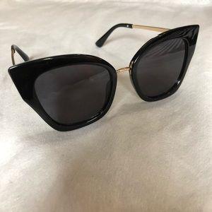 Free People black cat eye sunglasses